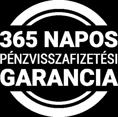 365 napos pénzvisszafizetési garancia